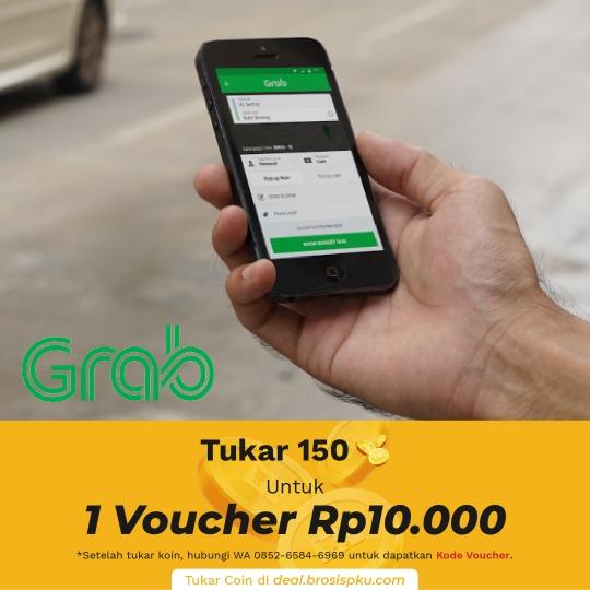 Grab Voucher Rp 10.000