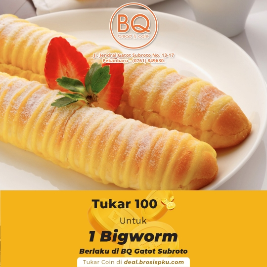 Breadboutique 1 Voucher 1 Pcs Big Worm