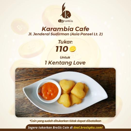 Karambia 1 Porsi Kentang Love