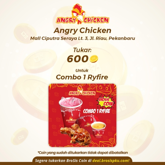 Angry Chicken 1 Voucher Combo 1 Ryfire