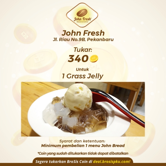 John Fresh 1 Grass Jelly