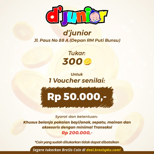 Djunior Baby & Kids Shop Voucher Rp 50.000