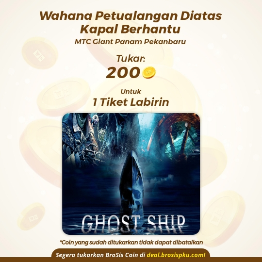 Wahana Ghost Ship 1 Voucher Wahana Labirin